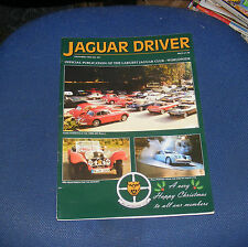 JAGUAR  DRIVER ISSUE 461 DECEMBER 1998 - THE RISE OF THE S TYPE