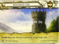 Warhammer Invasion - 1x Witchfate Tor  #055 - Cataclysm