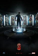 IRON MAN 3 ORIGINAL Advance DOUBLE SIDED MOVIE FILM POSTER 69x102cm Downey Jr
