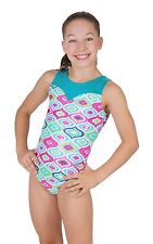 New! Fortune Gymnastics or Dance Leotards by Snowflake Designs