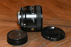 Nikon NIKKOR 85mm f/1.8D Auto Focus Fixed Lens for DSLR Cameras