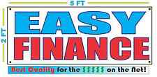 Easy Finance Banner Sign New Larger Size Best Quality For The Car Lot We