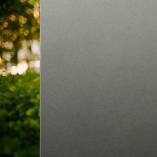 Rabbitgoo® No Glue Static Privacy Window Film Decorative Glass Frost Black