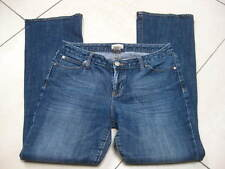 Ladies GAP 1969 CURVY FLARE JEANS size 29 A size UK 8 10 faded blue stretch abba