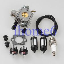 Carburetor Carb For Stihl FS250 FS120 FS200 FS300 Primer bulb fuel filter line