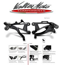 COMMANDES RECULÉES VALTER MOTO T1 DUCATI MONSTER 1100 / 09 13 PED016