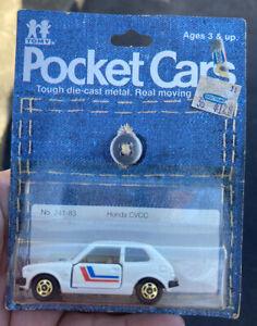 Tomy Pocket Cars Honda CVCC 241-83 MOC 1981