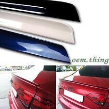 Painted Audi A4 B8 S Type Sedan Trunk Boot Lip Spoiler Wings PUF 2012 ○