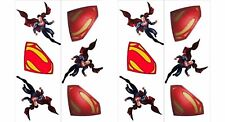 Superman Super Hero Party Supplies / Favour Temporary Tattoos Pack of 12 Tattoos