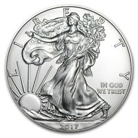 2017 Silver American Eagle 1 oz .999 Silver USA Made Bullion Dollar BU Coin