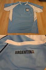 Men's Argentina XL Soccer Futbol Jersey (Light Blue) Rhinox Jersey