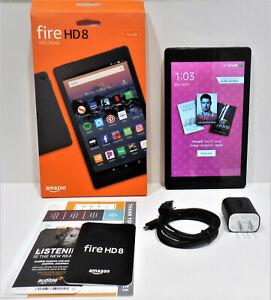 Amazon Fire HD 8 (8th Generation) 16 GB, Wi-Fi, 8 in - Black w/Alexa