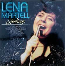 "Lena Martell   Feelings    12"" LP 33rpm    SHM3056    12 Tracks    HALLMARK"