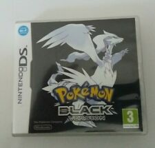 Pokemon : Black Version - Nintendo DS - Case + Manual Only - No Game