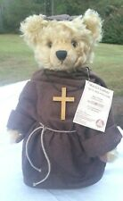 "VINTAGE MOHAIR GERMAN HERMANN "" MARTIN LUTHER"" TEDDY BEAR 16"" LIMITED EDITION"