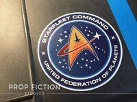 Star Trek - Prop Federation / Starfleet Command Sticker / Starship Set Decal