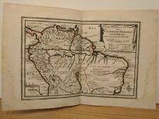 1702 de Fer: La Terre Ferme, Perou, Amazones, Bresil - Northern South America