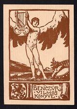 39)Nr.033-EXLIBRIS- J. Eder, 1905, Ex-Musicis
