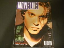 Johnny Depp, Sherilyn Fenn, Ava Gardner - Movieline Magazine 1990