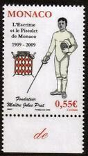 MONACO neuf sans charnière 2009 Club-ESCRIME et pistolet de Monaco