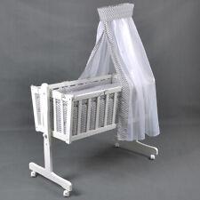 Babywiege Babybett Kinderbett Schaukelwiege Stubenwagen Beistellbett Star&Wave