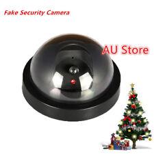 Wireless Dummy Fake Camera Surveillance CCTV Security Dome Flashing LED Light