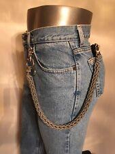 ACU Digital Line 3 Pin Weave Handmade 550 USA Paracord Biker Wallet Chain 1%