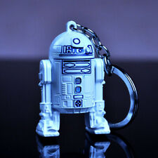 Aliex sells new Star Wars R2D2 stereo robot keychain creative gift car pendant