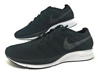 Nike Flyknit Trainer Mens Running Shoes Size 12 Black/White AH8396 007 NEW $150