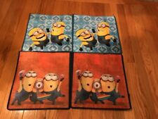 4 NEW Universal Kids Reusable Shopping Tote Bags - Despicable Me - Minions