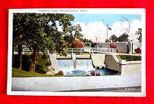 1929 Camden Park Postcard Minneapolis Minnesota msc2