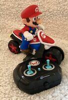 World of Nintendo Mariokart 2.4 GHz RC Anti-Gravity Motorcycle Toys Super Mario