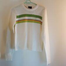 SouthPole Boys Sweater Orange Green Striped Size Medium