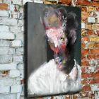 """36x24"""" Francis Bacon """"Surreal portrait"""" HD canvas print rolled up surreal art"""