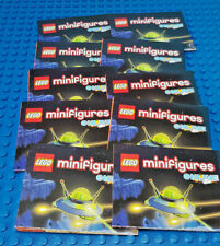 """LEGO-MINIFIGURES SERIES [15] -10 NEW LEAFLETS FROM SERIES 15 """"PLEASE READ"""""""