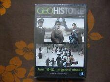 DVD JUIN 1940 , LE GRAND CHAOS - Christophe Weber / France Télévision(2010) NEUF
