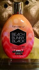 TAN ASZ U BEACH BUNNY BLACK  88X BLACK BRONZER W/ Everblack 13.5 oz BROWN SUGAR