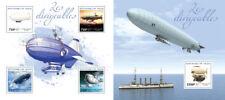 Dirigibles Zeppelins Luftschiffe Zeppeline Ships Transports Niger MNH stamp set