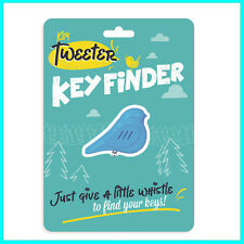 Tweeter Whistle Key Finder Bird with Keyring Key Chain