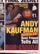 Andy Kaufman Revealed!: Best Friend Tells All-ExLibrary