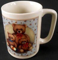 Otagiri Teddy Bear Family Coffee Cup Mug Vintage Made in Japan