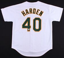 Rich Harden Signed Athletics Jersey (JSA COA & Charm City Hologram)