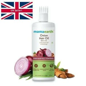 Mamaearth Onion Oil For Hair Growth and Hair Fall Control with Redensyl  250 ML.