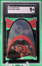 1997 SPx Michael Jordan DIE-CUT HOF #5 SGC 9 MINT