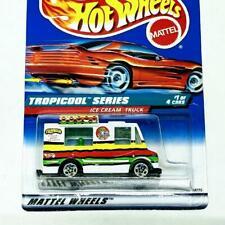 1998 Hot Wheels Tropicool Series 1/4 Ice Cream Truck White w 5sp Collector #693