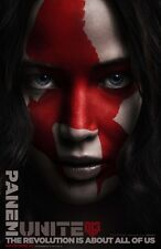 """Hunger Games :Mockingjay pART 2 Adv D Two Sided 27""""x40' inch Movie Poster"""