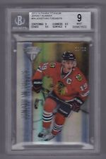 2013-14 Titanium Jonathan Toews Jersey Number Parallel (11/19) BGS 9 - POP 1
