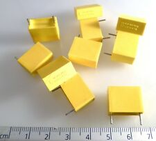 Philips MKT 344 HQ Polyester Capacitor 1uf/10/100 1uF 10% 100V 10 Pieces OL0323A