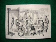 Amburgo nel 1882 - Osteria italiana