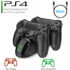 Dual Ladegerät Charger Doppel Ladestation Dock für Playstation 4 PS4 Controller